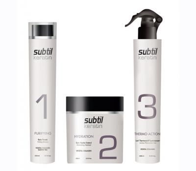 Range of SUBTIL KERATIN products - Personal Treatment