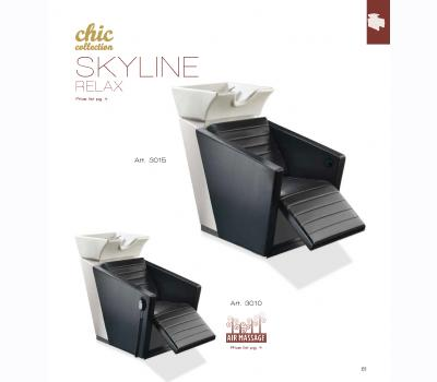Shampoo Chair Chic SKyline Relax Vezzosi